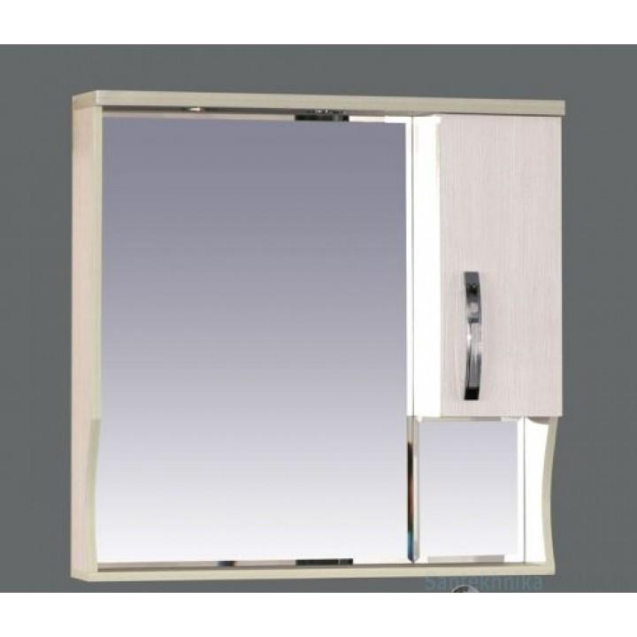 Зеркало-шкаф Misty Модерн 80 R П-Мод02080-19СвП