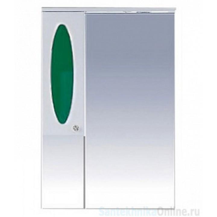 Зеркало-шкаф Misty Сидней 65 L зеленый П-Сид02065-285СвЛ