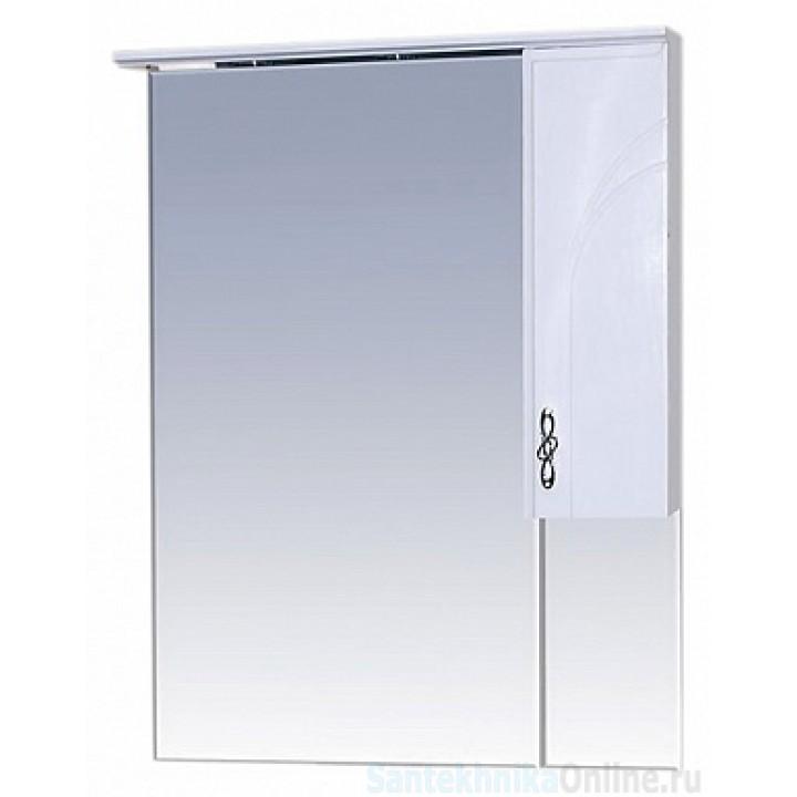 Зеркало-шкаф Misty Сицилия 65 R П-Сиц04065-011СвП