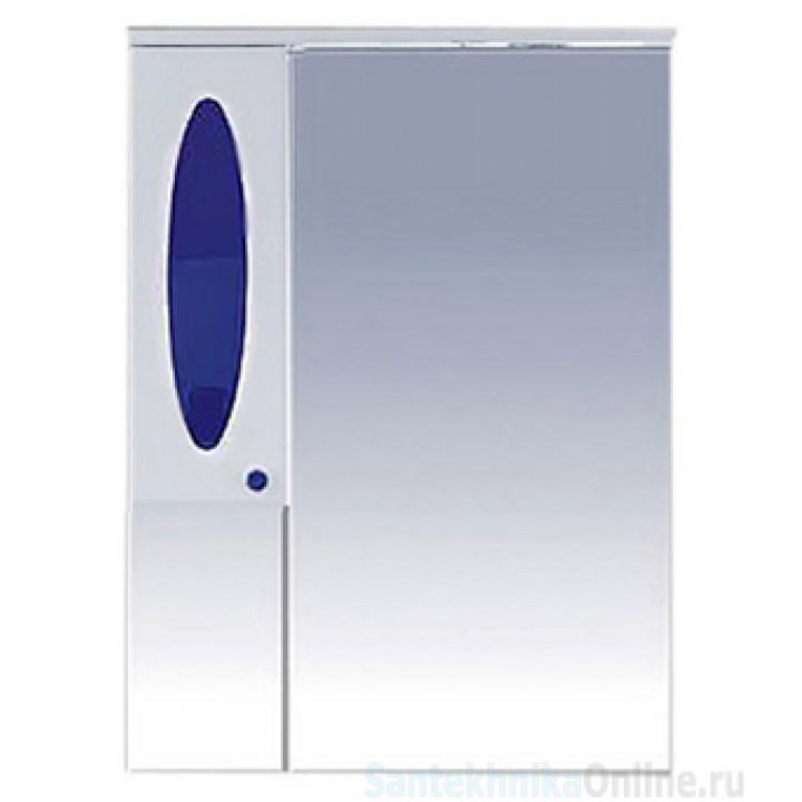 Зеркало-шкаф Misty Сидней 75 L синий П-Сид02075-305СвЛ