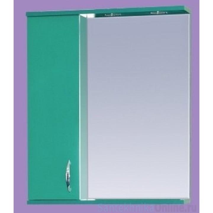 Зеркало-шкаф Misty Стиль 55 L зеленый Э-Сти02055-08СвЛ