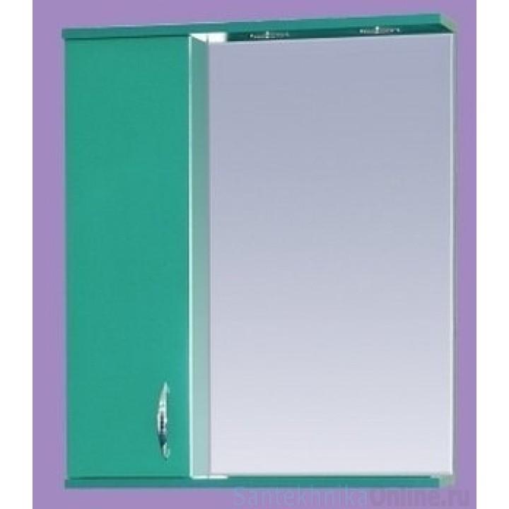 Зеркало-шкаф Misty Стиль 60 L зеленый Э-Сти02060-08СвЛ