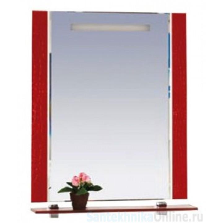 Зеркала Misty Гранд Lux 80 бордо Croco Л-Грл02080-109Кр
