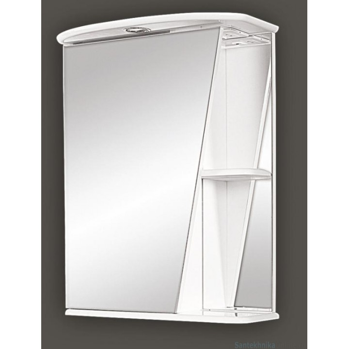 Зеркало-шкаф Misty Бриз 55 L Э-Брз02055-01СвЛ