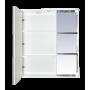 Зеркало-шкаф Misty Венера - 70 Зеркало-шкаф лев. со светом комбинированное П-Внр04070-25СвЛ