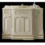 Тумба под раковину Misty Астория Gold 120 бежевая глянец Л-Асг01120-3818Пр