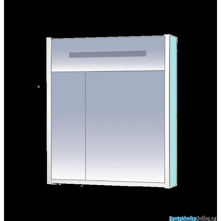 Зеркало-шкаф Misty Джулия 75 голубой Л-Джу04075-0610