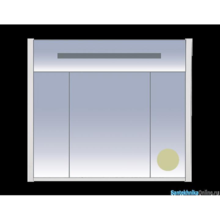 Зеркало-шкаф Misty Джулия 90 бежевый Л-Джу04090-5310