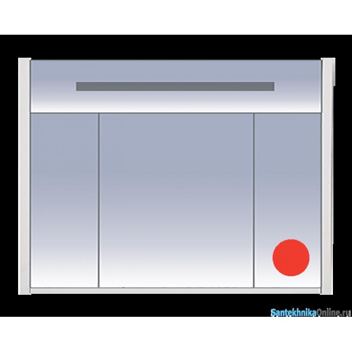 Зеркало-шкаф Misty Джулия 105 красный Л-Джу04105-0410