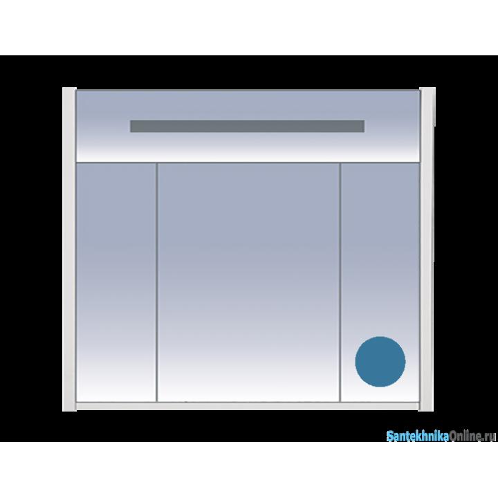 Зеркало-шкаф Misty Джулия 90 синий Л-Джу04090-1110