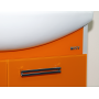 Тумба под раковину Misty Джулия 105 тумба подвесная оранжевая Л-Джу01105-1310По