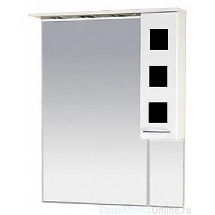 Зеркало-шкаф Misty Кармен 80 R черный П-Крм04080-2315П