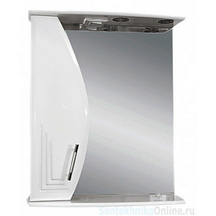 Зеркало-шкаф Misty Либро 60 L П-Либ02060-01СвЛ