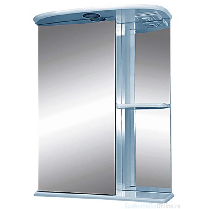 Зеркало-шкаф Misty Нарцис - 55 зеркало - шкаф лев. (свет) Э-Нар02055-01СвЛ