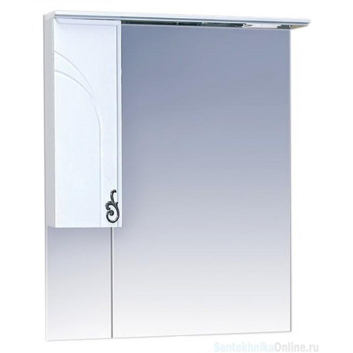 Зеркало-шкаф Misty Неаполь 75 L П-Неа04075-011СвЛ