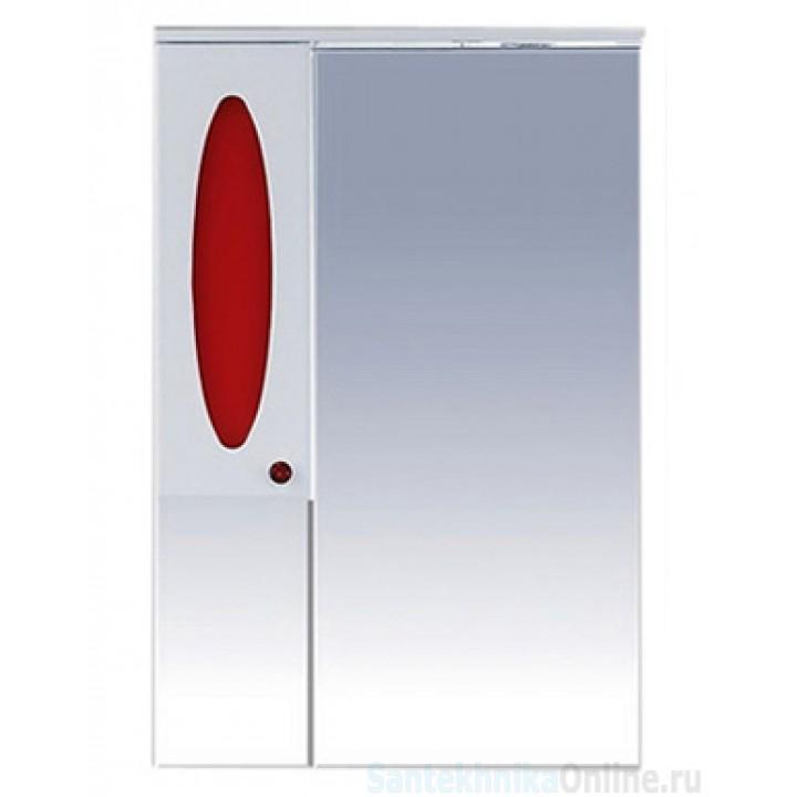 Зеркало-шкаф Misty Сидней 65 L красный П-Сид02065-265СвЛ