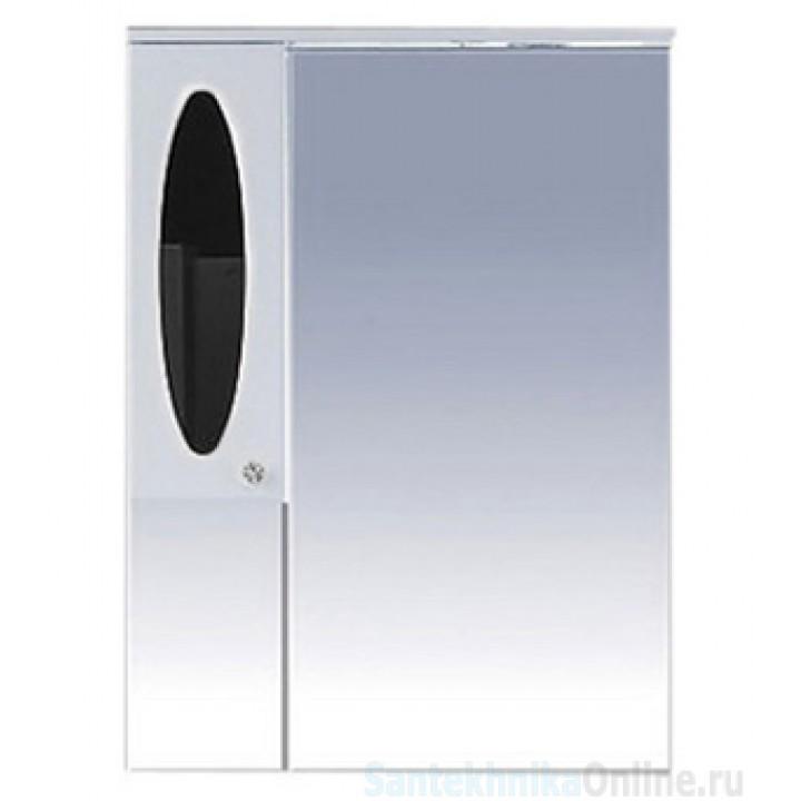 Зеркало-шкаф Misty Сидней 75 L черный П-Сид02075-235СвЛ
