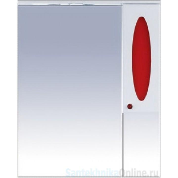 Зеркало-шкаф Misty Сидней 85 R красный П-Сид02085-265СвП