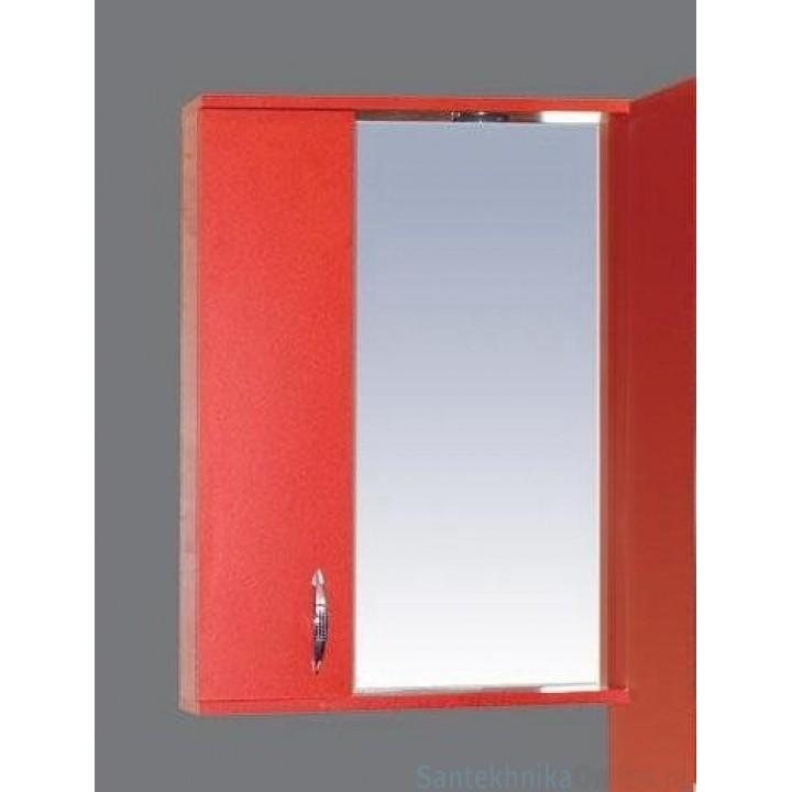 Зеркало-шкаф Misty Стиль 55 L красный Э-Сти02055-04СвЛ