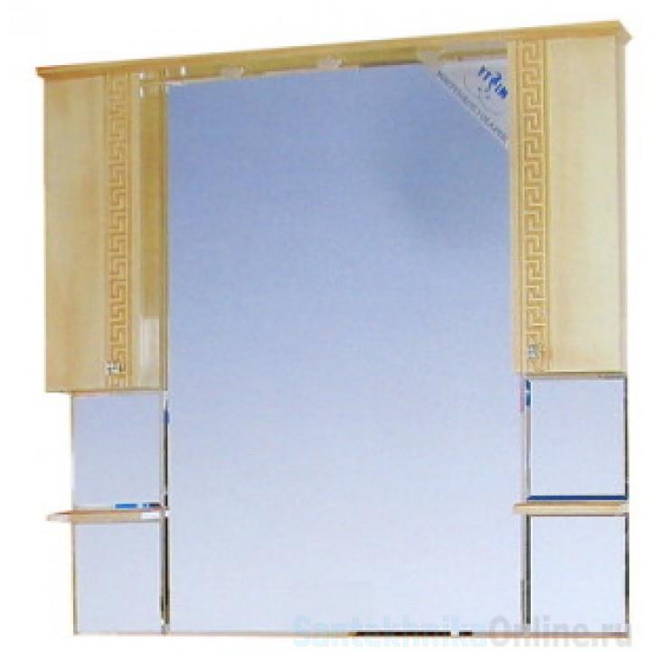 Зеркало-шкаф Misty Olimpia Lux 105 Л-Олл04105-033Св