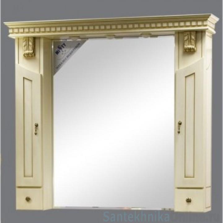 Зеркало-шкаф Misty Афина 120 Л-Афи04120-033