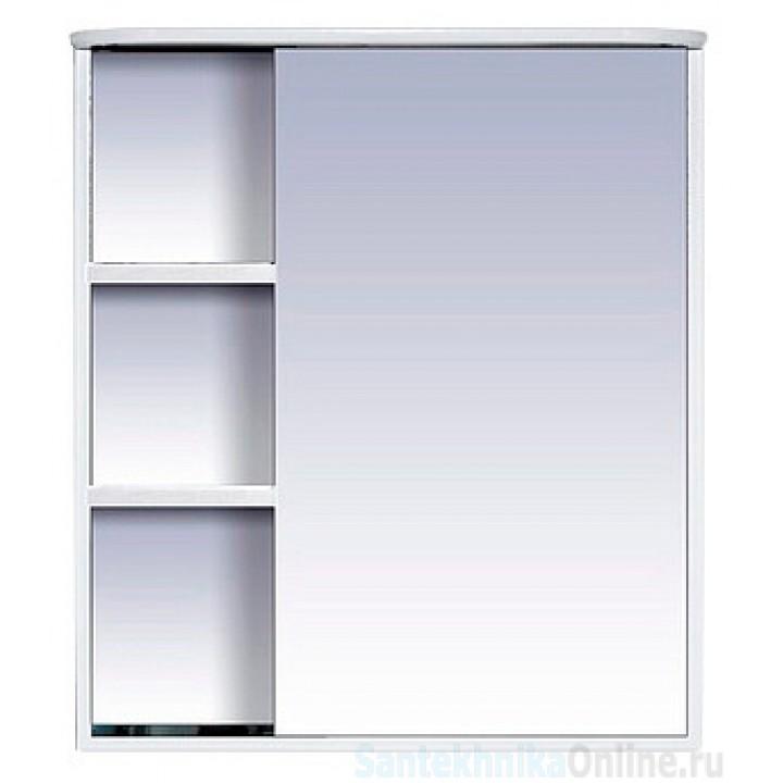 Зеркало-шкаф Misty Венера - 70 Зеркало-шкаф прав. со светом белое П-Внр04070-01СвП