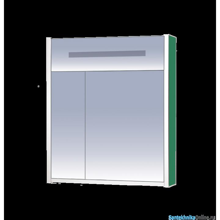 Зеркало-шкаф Misty Джулия 75 зеленый Л-Джу04075-0810