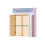 Зеркало-шкаф Misty Джулия 65 розовый Л-Джу04065-1210