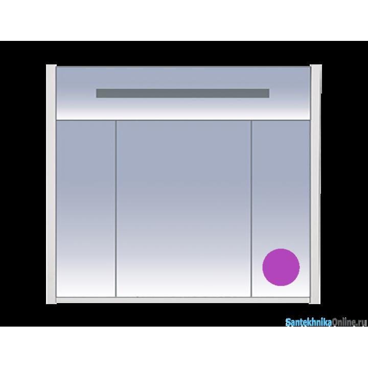 Зеркало-шкаф Misty Джулия 90 сиреневый Л-Джу04090-1510