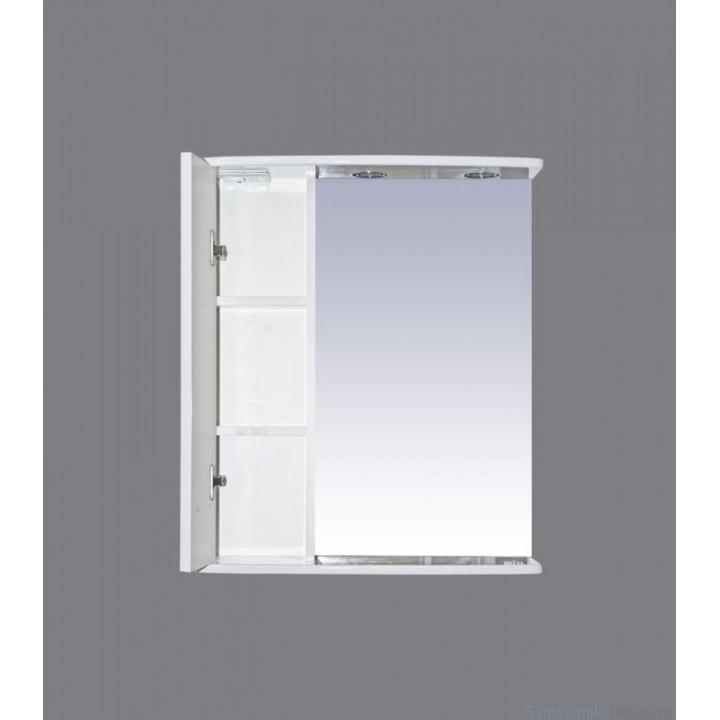 Зеркало-шкаф Misty Астра 55 L Э-Аст04055-01СвЛ