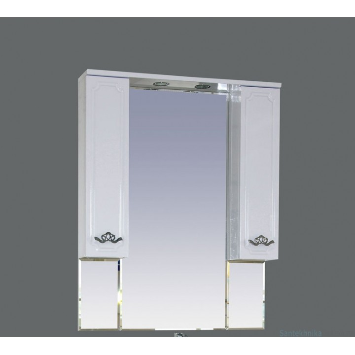 Зеркало-шкаф Misty Камелия 80 П-Кам02080-012Св