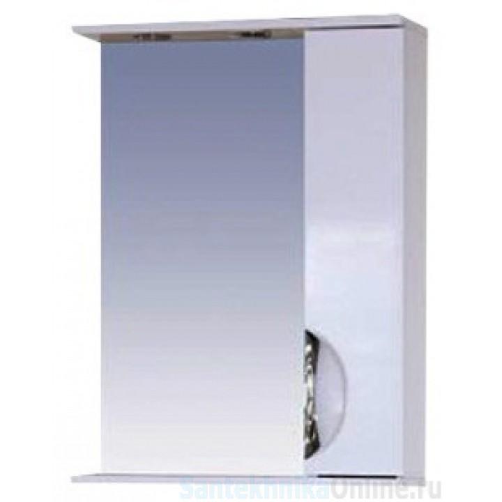Зеркало-шкаф Misty Жасмин 55 R белый П-Жас02055-011СвП