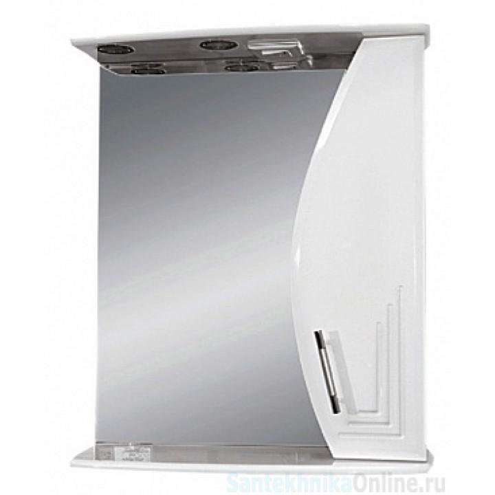 Зеркало-шкаф Misty Либро 60 R П-Либ02060-01СвП