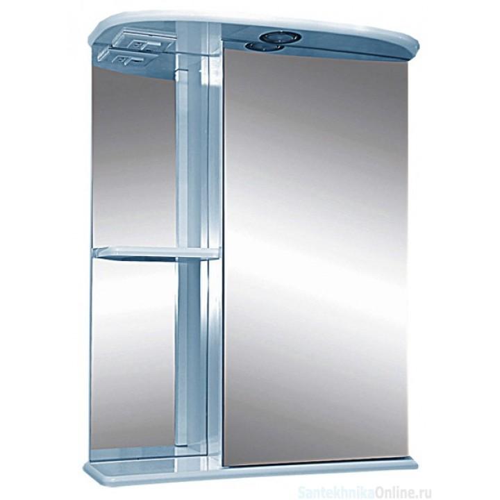 Зеркало-шкаф Misty Нарцис - 55 зеркало - шкаф прав. (свет) Э-Нар02055-01СвП