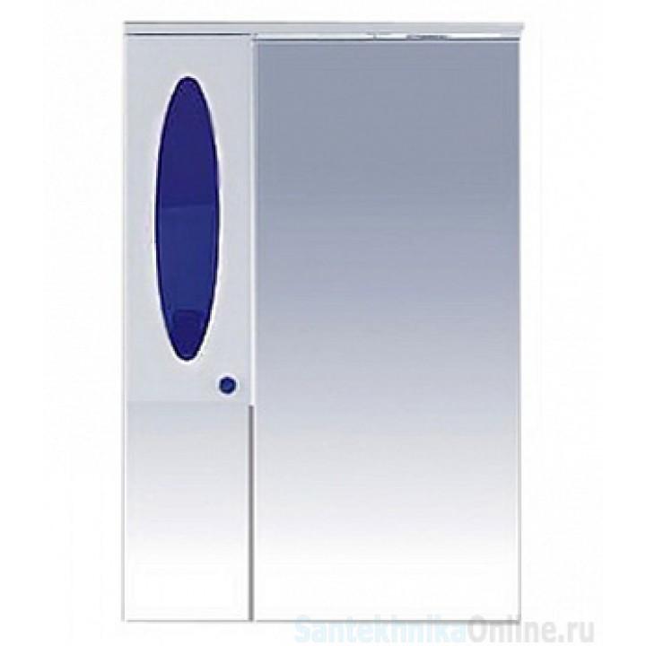 Зеркало-шкаф Misty Сидней 65 L синий П-Сид02065-305СвЛ