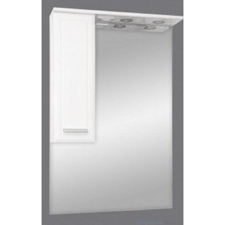 Зеркало-шкаф Misty Стелла 65 L Э-Сте02065-01СвЛ