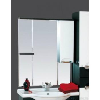 Зеркало-шкаф Misty Франко - 85 зеркало-шкаф Венге/белый (свет) прав. П-Фра04085-252СвП