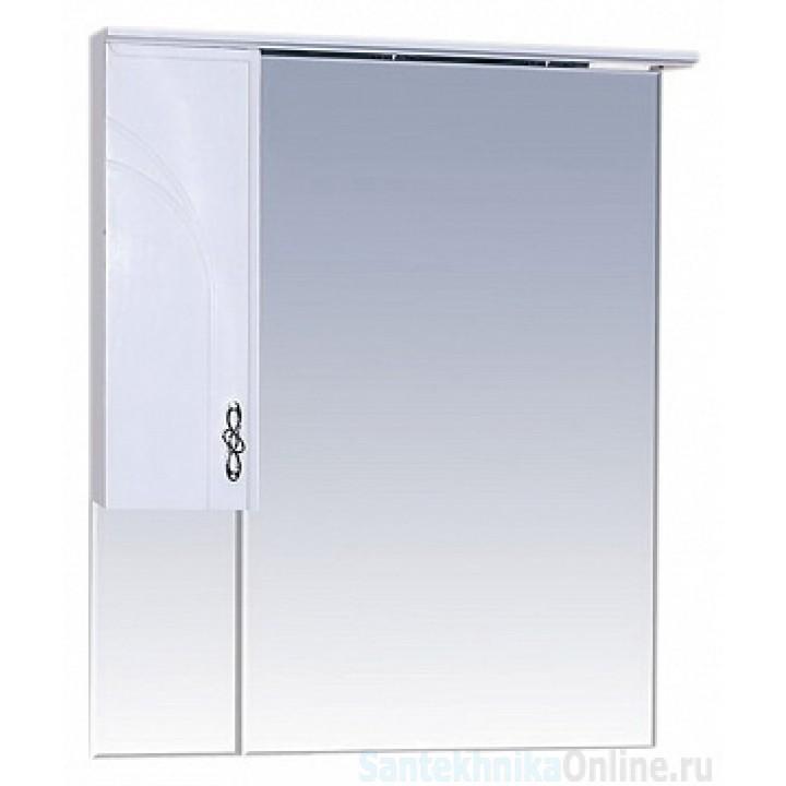 Зеркало-шкаф Misty Сицилия 75 L П-Сиц04075-011СвЛ