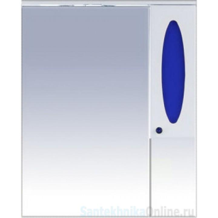 Зеркало-шкаф Misty Сидней 85 R синий П-Сид02085-305СвП