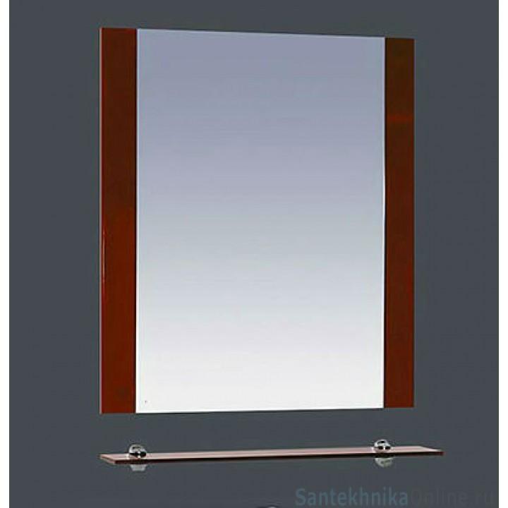 Зеркала Misty Эмилия - 60 Зеркало красное с полочкой П-Эми03060-041