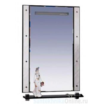 Зеркала Misty Гранд Lux 60 бело-черное Cristallo Л-Грл02060-239Кс