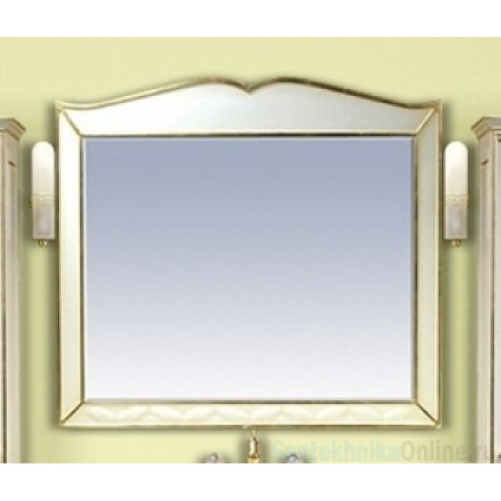 Зеркала Misty Анжелика 100 белое сусальное золото Л-Анж02100-391Св