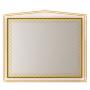 Зеркала Misty Ницца 120 белое патина Л-Ниц02120-013