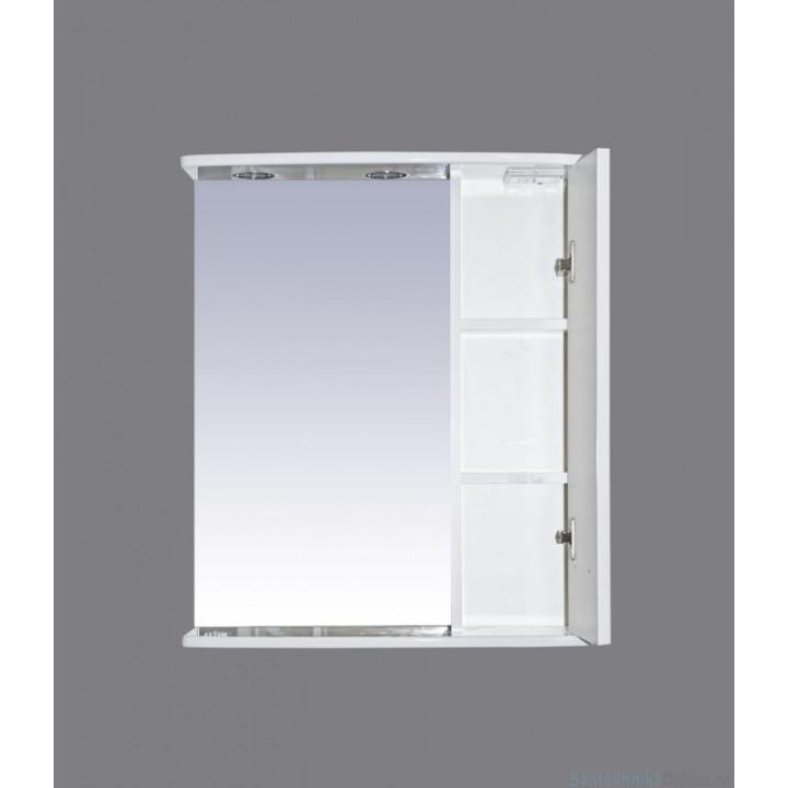 Зеркало-шкаф Misty Астра 55 R Э-Аст04055-01СвП