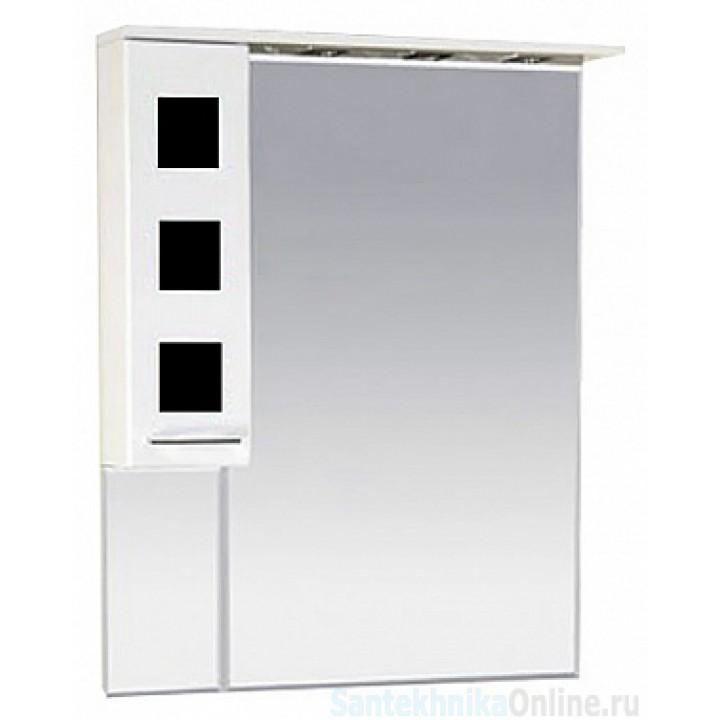 Зеркало-шкаф Misty Кармен 70 L черный П-Крм04070-2315Л