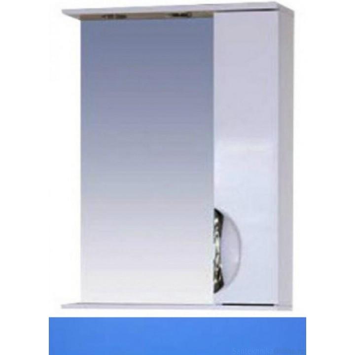 Зеркало-шкаф Misty Жасмин 55 R голубой П-Жас02055-061СвП