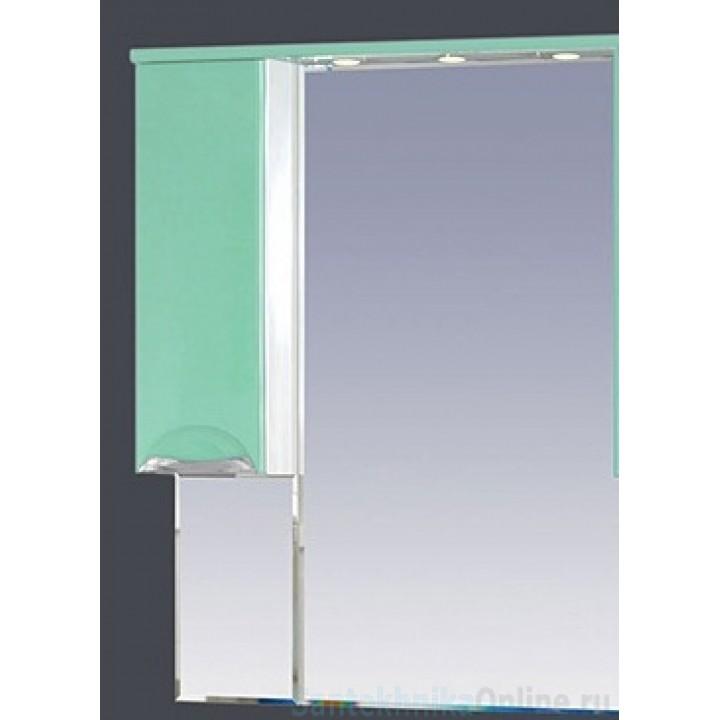 Зеркало-шкаф Misty Жасмин 65 L салатовый П-Жас02065-071СвЛ