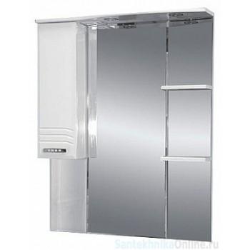 Зеркало-шкаф Misty Либро 80 L П-Либ02080-01СвЛ