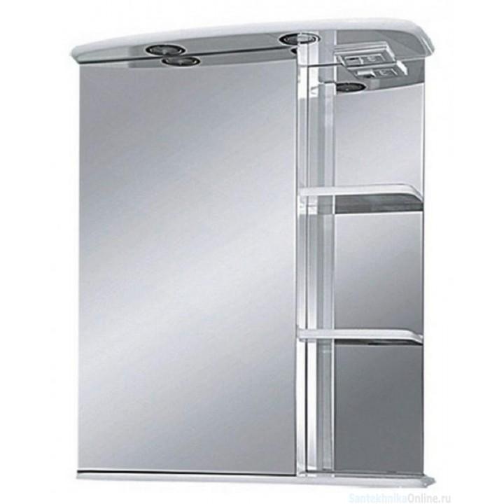 Зеркало-шкаф Misty Магнолия 60 L со светом Э-Маг04060-01СвЛ