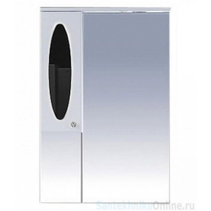 Зеркало-шкаф Misty Сидней 65 L черный П-Сид02065-235СвЛ